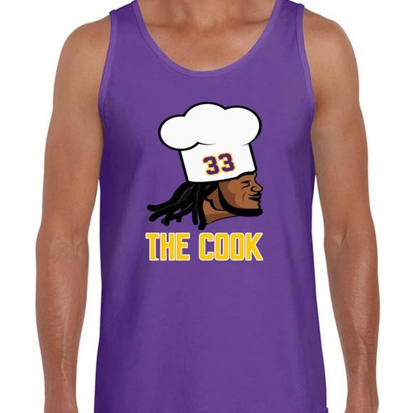 "Kirk Cousins Minnesota Vikings /""KIRK/"" TANK-TOP"